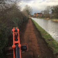 Aston to Stone National Cycle Network project - Ridgewood Contracts
